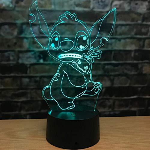 Schmuckstück Geschenk Flöte 3D Handwerk Lampe Acryl Nachtlicht Geburtstagsgeschenk Umgebung Usb Tischlampe Led Nachtlicht