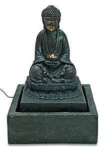 Fontaine d'intérieur Bouddha Méditant LED XXL 57 cm