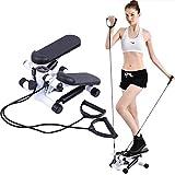 Paneltech Fitness Stepper Stepper pour Femme Fitness Stepper Mini Stepper-Support antidérapant pour exercices aérobic avec extenseurs