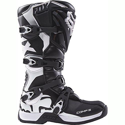 FOX 2016 Motocross/ Enduro Stiefel COMP 5 Frauen – schwarz weiß: Größe Stiefel: 37,5 EU / 6 US - 2