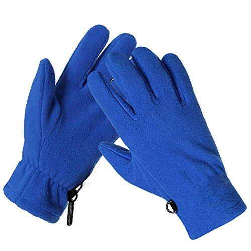 SHOU Outdoor Fleece Handschuhe Männer und Frauen Winter Ski Bergsteigen kalte warm Handschuhe, XL