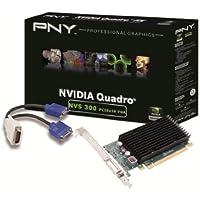 PNY NVIDIA NVS 300 PCIe x16 (2 Monitor) Retail 512Mb