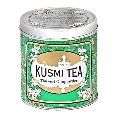 Kusmi Tea - Thé vert à la menthe nanah - Boîte métal 250g