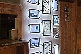 Instalación Luminosa Publicitario Póster Warner Thin Led A3, Horizontal Para Empresas Inmobiliarias el Expositor de Una Tienda Menu Restaurante Bar