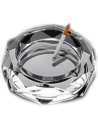 Kristall Aschenbecher Glas Kreativ Ktv Plus size Wohnzimmer Praktischen Dekoration Lingxiang-D-18cm