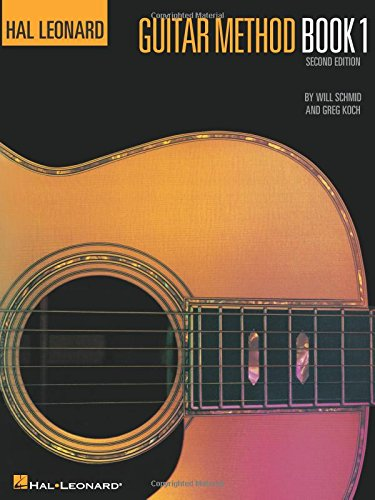 Hal Leonard Guitar Method Book 1 Book Only Bk 1