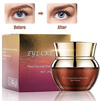 Charmss Eye Cream Anti-Envejecimiento Antiarrugas Mejora las líneas finas y las arrugas, elimina los círculos oscuros y las bolsas para debajo y alrededor de los ojos, crema hidratante para ojos (25g)