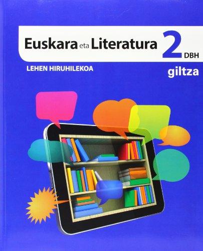 EUSKARA ETA LITERATURA DBH 2 - 9788483782606