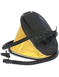 Elementerre PUMP - Hinchador de pie de 5l, color amarillo, talla 28 x 22 x 7