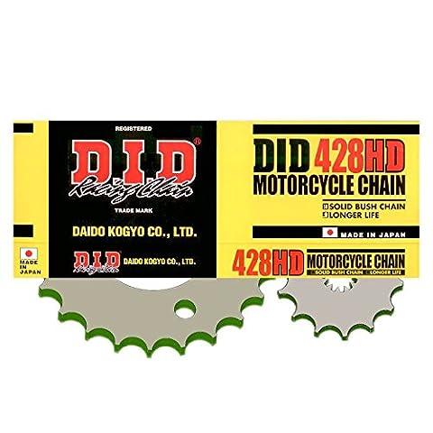 DID Kettensatz KREIDLER 125ccm Supermoto/Enduro Bj. 07-10 Übersetzung