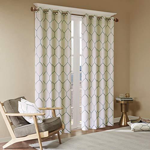 check MRP of aqua curtains Madison Park