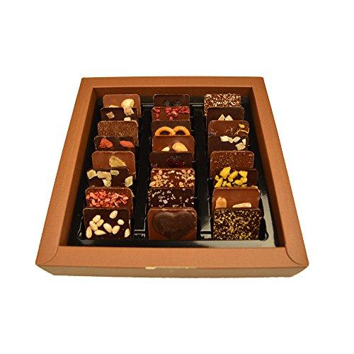 Vegane Schokoladen-Weltreise, 24 Mini-Tafeln mit veganen Zutaten - 3