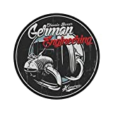 Nero Homyl Decal Decalcomania Striscia Autoadesivo Serbatoio Carburante Per Moto Cafe Racer Auto e Moto