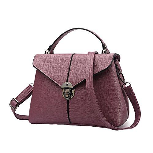 Handtaschen Messenger Bag Handtasche Umhängetasche Handtasche Einfache Und Elegante Atmosphäre Purple