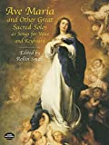 Ave Maria And Other Great Sacred Solos Vce