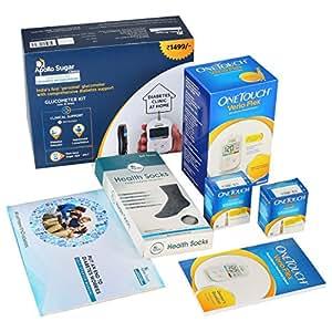 Apollo Sugar Diabetes Home Care Basic Kit (White)