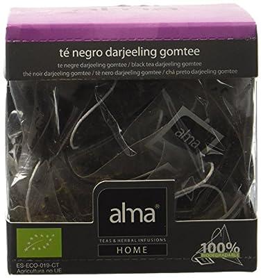 ALMA Darjeeling Gomtee Thé Noir Bio 15 Pyramides 30 g