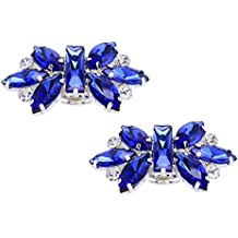 Clips de cristal brillantes para zapatos de mujeres para bodas