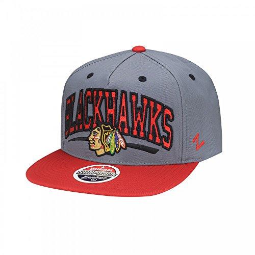 Zephyr NHL Chicago Blackhawks Phenom Snapback Cap