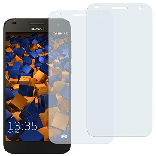 mumbi Schutzfolie kompatibel mit Huawei Ascend G7 Folie klar, Bildschirmschutzfolie (2x)