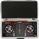Khanka Duro Viaje Estuche Bolso Funda para Numark Mixtrack Platinum Controladora DJ 4 canales