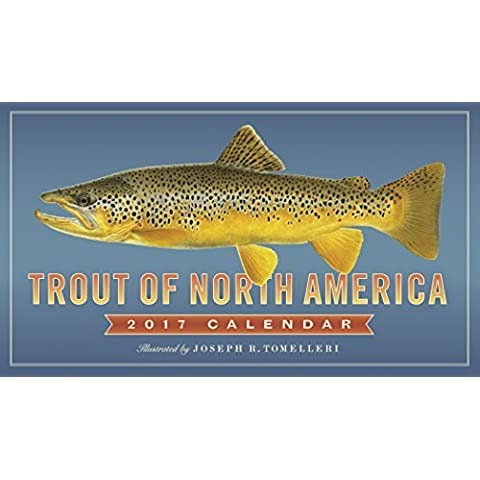 Trout of North America Wall Calendar 2017 by Workman Publishing (2016-08-02) - America Del Wall Calendar