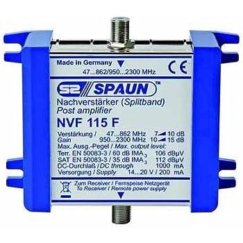 Spaun NVF 115 F Amplificateur satellite/linéaire (Import Allemagne)