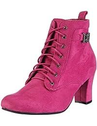 Hirschkogel Stiefelette Mara - Pink