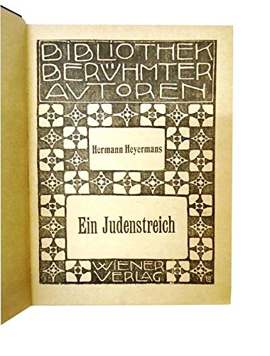 Ein Judenstreich. / Der schwarze Jack und andere Geschichten. (Kipling Karriere)