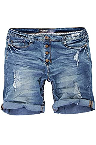 Short Court Coton Homme - MERISH Jeans Shorts Homme Bermuda Pantalon court