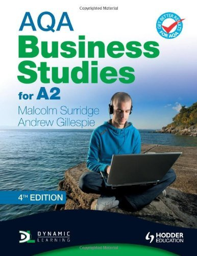 AQA Business Studies for A2 (Surridge & Gillespie) 4th Edition (AQA A Level Business) by Malcolm Surridge (27-Apr-2012) Paperback