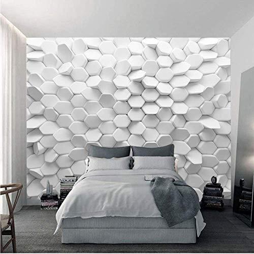 Pbldb Vision Unregelmäßiges Pentagon Bestellung Benutzerdefinierte Moderne Tapete Die Neue Abstrakte Geometrische Figur Wandbild Tapete Zum Leben-250X175Cm