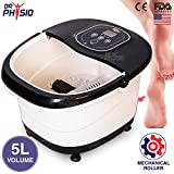 Dr Physio (USA) Foot Spa Massager and Pedicure Machine Electric Massagers(Black)