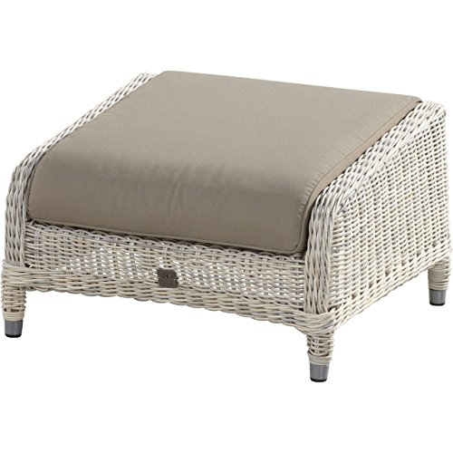 4Seasons Outdoor Brighton Fußhocker Polyrattan provance Fussteil 212379