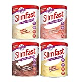 SlimFast 4-pack Multiple Flavours Shake Powder