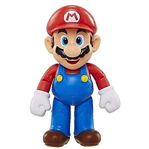 World of Nintendo – Super Mario – Mario – Figurine Articulée 10 cm