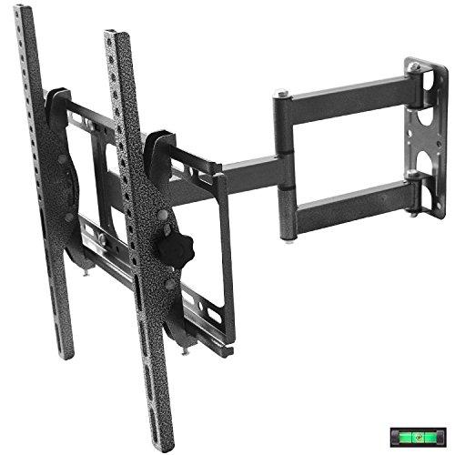 FANCYINN Soporte de pared de TV Montaje Inclinación y giro para LCD...
