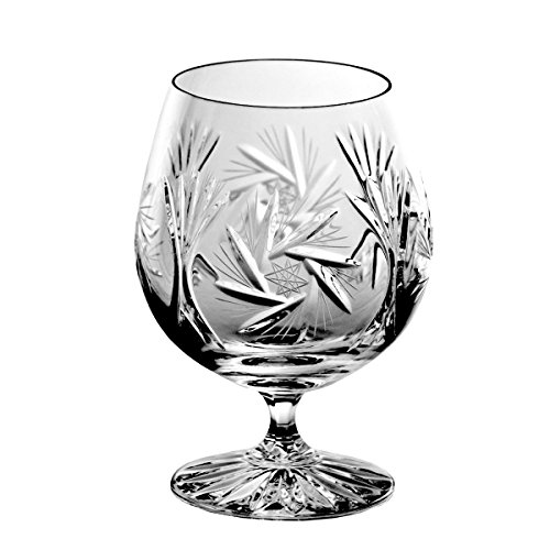Crystaljulia 2340 Cognacglas Bleikristall 6 Stück, 500 ml