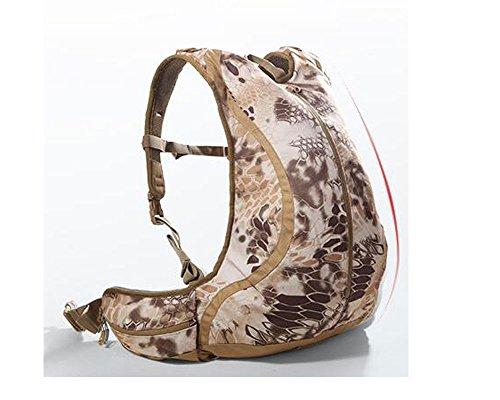 Outdoor Rucksack 20L Camouflage Schultern Paket Tactical Taschen Wild Tasche für Jagd, Camping, Wandern shamose