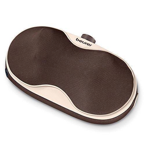 Beurer MG 520 Cuscino Massaggiante Portatile, per Massaggi Shiatsu a Spalle, Cervicale, Schiena e Gambe