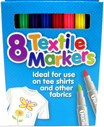 coloured-fabric-markers-t-shirt-pens-fabric-pens-marker-pen-textile-markers-x-8