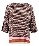 SOYACONCEPT Damen Bluse SC-NIDA 3/4-Arm rost (34) L