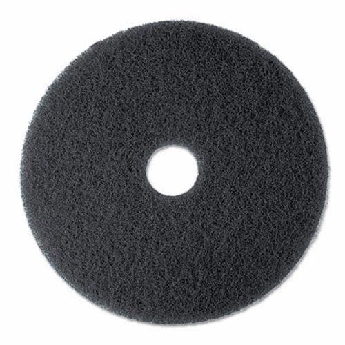 3M 08375langsamen Stripper Boden Pad 7200, 33cm Durchmesser, Schwarz, 5/Carton