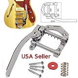 Horseshoe Guitar B5 Vintage Style Chrome Vibrato Tremolo B-Stock Tele SG LP Flat