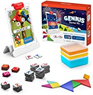 Osmo Genius Starter Kit - 5 Educational Learning Games - Ages 6-10 - Math, Spelling, Creativity & More - S