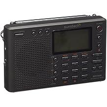Sunstech RP-DS 800 - Radiodespertador (Digital, AM, FM, LW, SO, LCD), gris