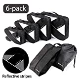 Best Compression Packing Cubes - Uarter Packing Cubes 6 Set Compression Travel Organiser Review