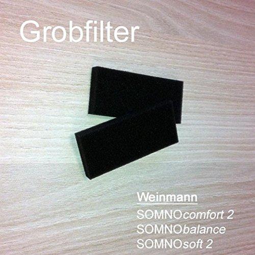 Grobfilter Weinmann Somnocomfort 2, Somnobalance und SomnoSoft Filter Packung=2