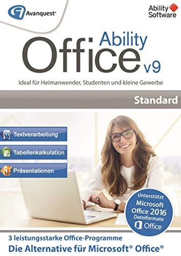 Ability Office 9 | Standard | PC | PC Aktivierungscode per Email