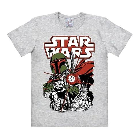 T-Shirt Boba Fett - Krieg der Sterne - Star Wars